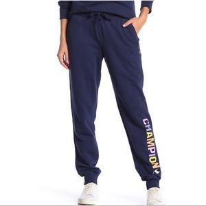 CHAMPION Powerblend Graphic Jogger Athletic Blue